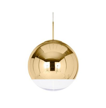 Mirror ball gold